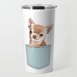 Chihuahua in Pocket Travel Mug