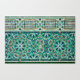 Moroccan Mosaic 2 Canvas Print