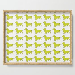 Doxie Love - Lime Serving Tray