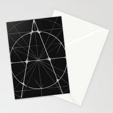 XXIst Century Anarchy Monochrome Stationery Cards