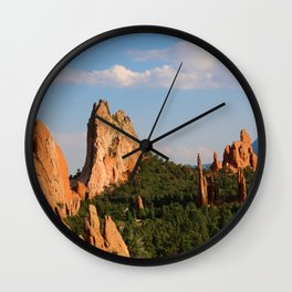 Garden of the Gods Wall Clock