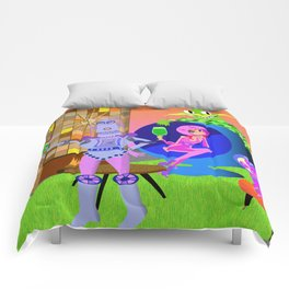 Cheer to the future! Comforters