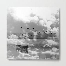 Lonely Waters Metal Print