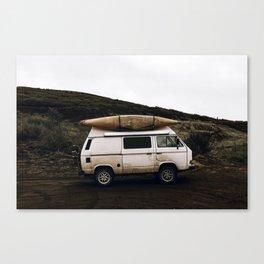 Van Life II / Iceland Canvas Print