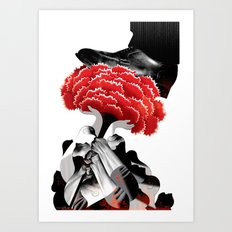 Carnation Revolution Art Print