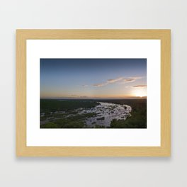 oliphants river, kruger national park Framed Art Print