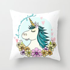 I AM MAGICAL Throw Pillow