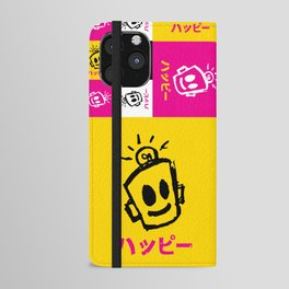 HAPPY Japanese iPhone Wallet Case
