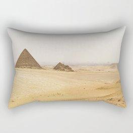 Pyramids of Giza Rectangular Pillow