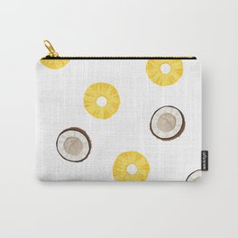 Raining Pineapples and Coconuts Carry-All Pouch