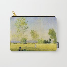 12,000pixel-500dpi - Claude Monet - Summer - Digital Remastered Edition Carry-All Pouch