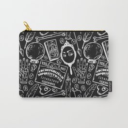 Divination in Black Carry-All Pouch
