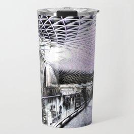 Kings Cross Station Art Travel Mug