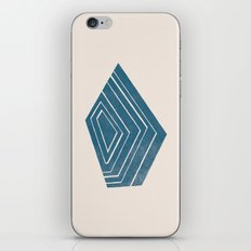 Geode I - in Sapphire iPhone & iPod Skin