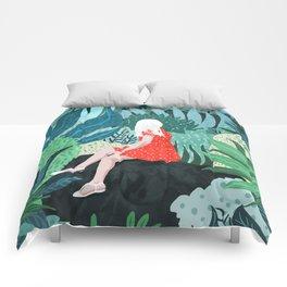 Forest Gaze Comforters