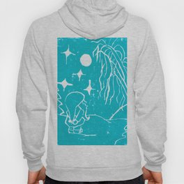 Winter Elf Icy Blue Hoody