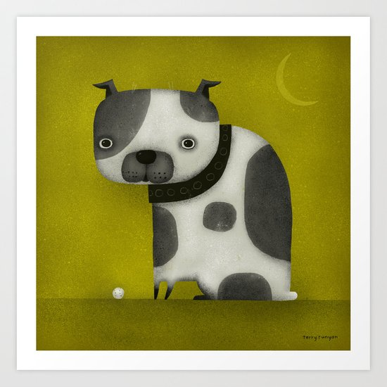 STUBBY TAIL Art Print