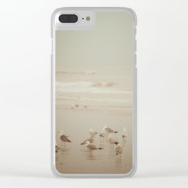 Seabirds Clear iPhone Case
