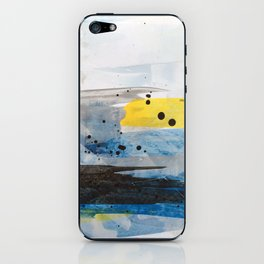Dusty Sea iPhone Skin