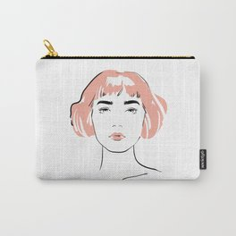 pink hair, don't care Carry-All Pouch
