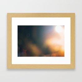 Abstract Light Framed Art Print
