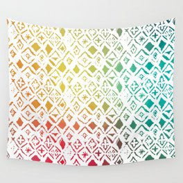 Screened Spectrum Wall Tapestry