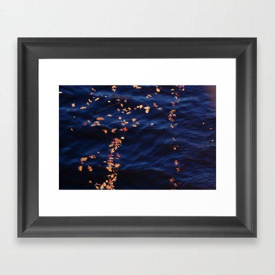 Alternate night sky Framed Art Print