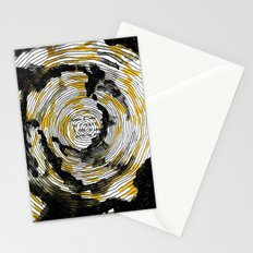 i fell in love with the sun Stationery Cards