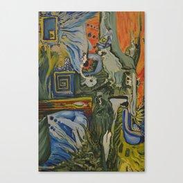 18 hours Canvas Print