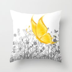 Fantasy Butterfly #11 Throw Pillow