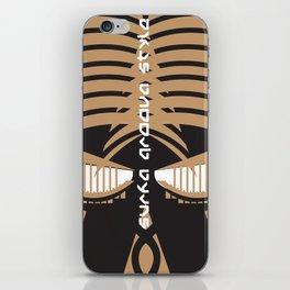 """""""Aya Fern""""  Surfa Groova Africa Board print iPhone Skin"""