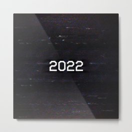2022 Metal Print