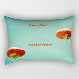 Hangin' Together Rectangular Pillow