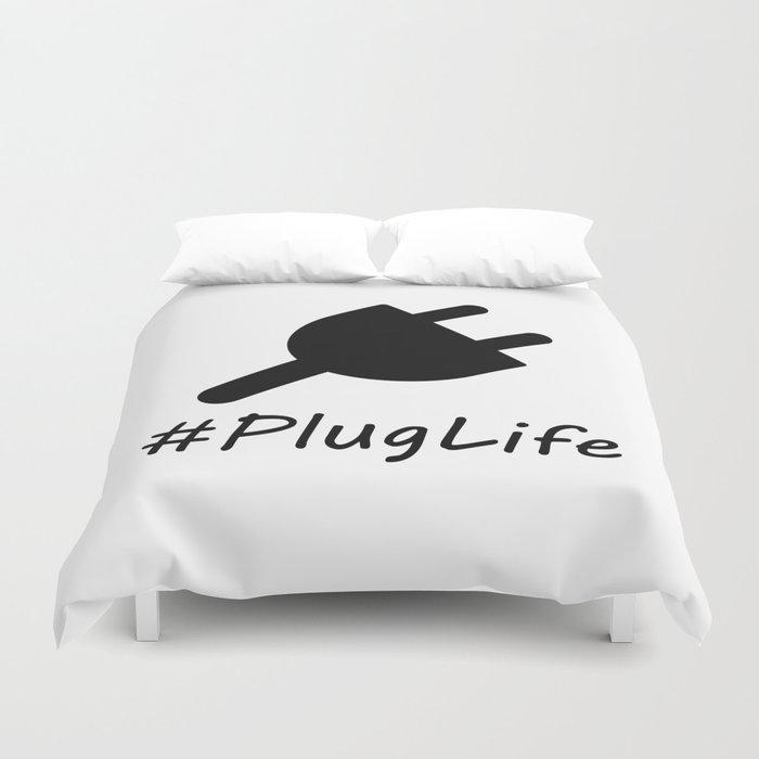 #PlugLife Plug Duvet Cover
