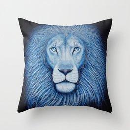 'Majesty' Star Lion Throw Pillow