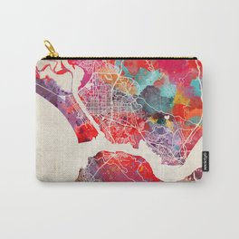 Vallejo map California painting 2 Carry-All Pouch