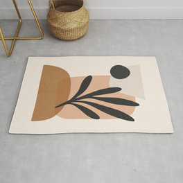 Minimal Abstract Art 11 Rug