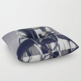 Darth Vader Helmet Pixel Floor Pillow