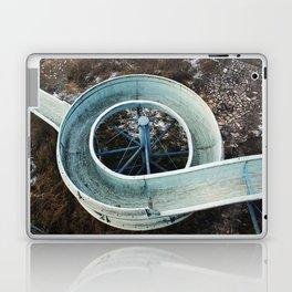Abandoned slide Laptop & iPad Skin