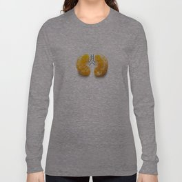 Mandarine lungs Long Sleeve T-shirt