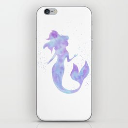 Mermaid Silhouette iPhone Skin