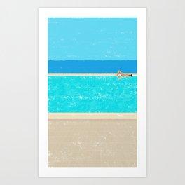 pool-2 Art Print