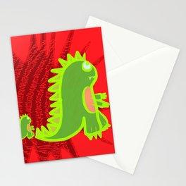 Radioactive Kaiju Stationery Cards