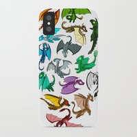 dragons iPhone & iPod Cases featuring Dragons by prpldragon