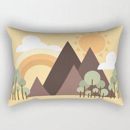 natures best Rectangular Pillow
