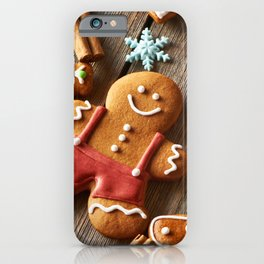 Gingerbread Cookies iPhone Case