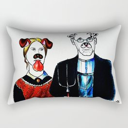 American Gothic 2016 Rectangular Pillow