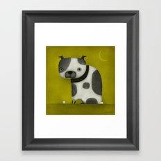 STUBBY TAIL Framed Art Print
