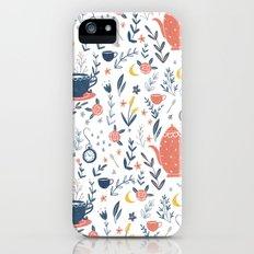 Mad Tea Party iPhone (5, 5s) Slim Case
