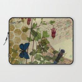 Columbine Love Letters 2 Laptop Sleeve